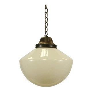 Glass Globe Mill Pendant Light