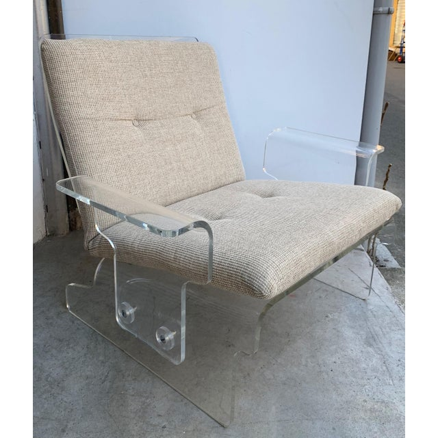 Pair of Lucite Armchairs by Baumann, Germany, 1970s For Sale - Image 10 of 13