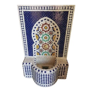 Multicolor Moroccan Mosaic Fountain