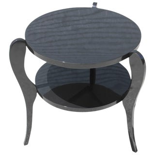 French Art Deco Side Table, Circa 1940s For Sale