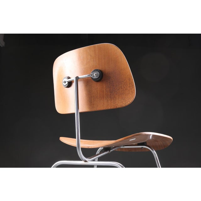 - DCM dining chair - Designed by Charles and Ray Eames in 1946 - Produced by Herman Miller - With seat and back in molded...