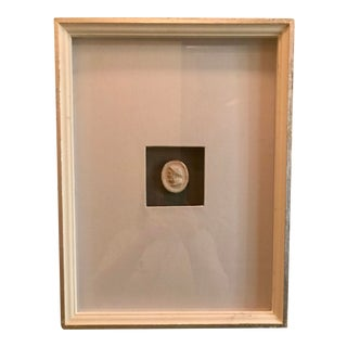 Matted and Framed Intaglio #1 For Sale