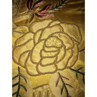 Vervain Beaded and Embroidered Fabric With 90/10 Down Insert Preview