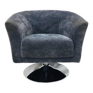 Mid-Century Modern Milo Baughman Tulip Club Chair For Sale