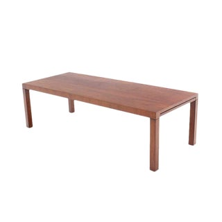 Mid-Century Modern Expandable Walnut Coffee Table by Directional For Sale