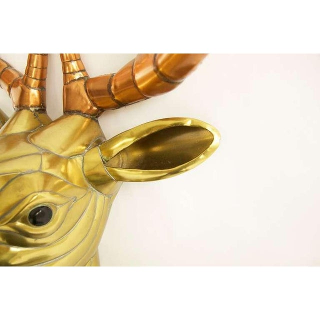 Sergio Bustamante Stag Head For Sale - Image 9 of 10