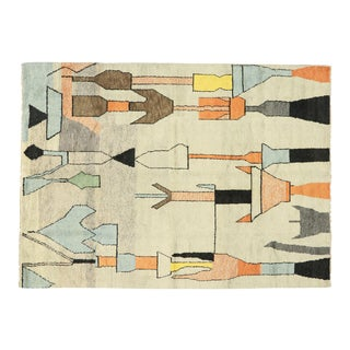 Contemporary Moroccan Rug Inspired by Paul Klee - 10'00 X 13'09 For Sale