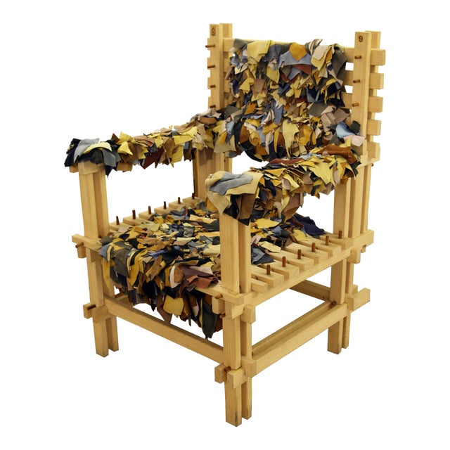 Anacleto Spazzapan Wooden Armchair - Image 1 of 7