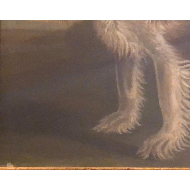 Late 20th Century Portrait of a Cavalier King Charles Spaniel Oil on Canvas Painting For Sale In New York - Image 6 of 11