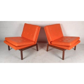 Mid-Century Modern Slipper Lounge Chairs by Milo Baughman for Thayer Coggin Preview