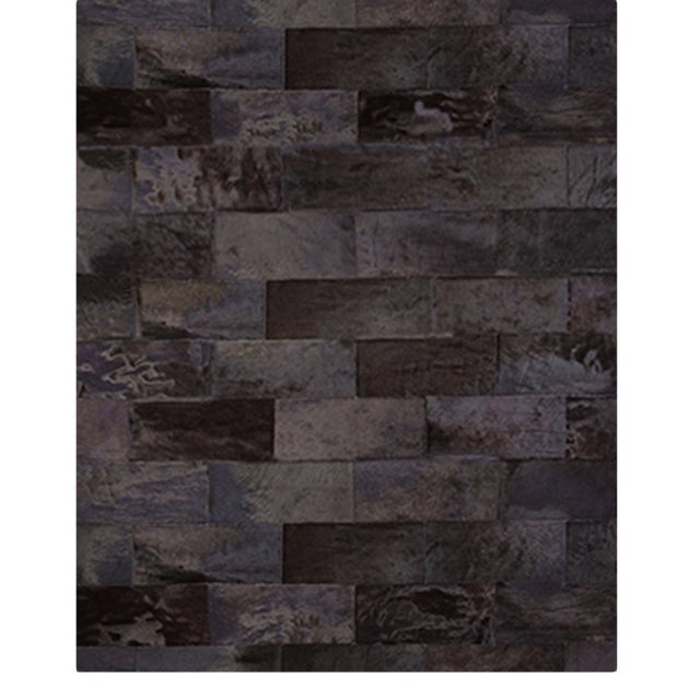 Brick Leathers Rug From Covet Paris For Sale