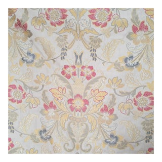 Damask Woven Fabric - 3 Yards