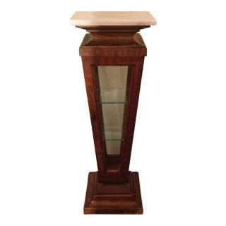 Vintage Weiman Vase Display Case