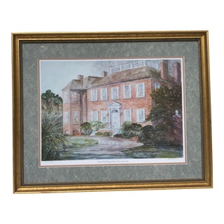 American Fenwick Hall Hospital Manor House, Circa 1730 For Sale