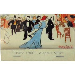 Maxim's of Paris 1950's Matchbook For Sale