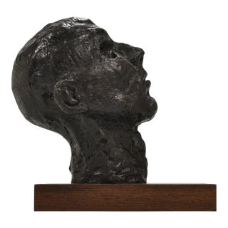 Bronze Bust or Head Sculpture For Sale