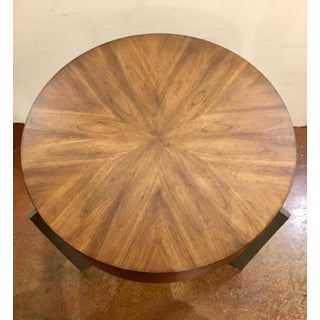 Modern Round Wooden End Table Preview