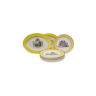 Collection of Creamware Plates and Serving Pieces For Sale