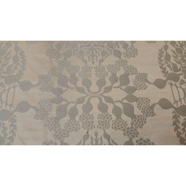 Traditional Knoll Luxe Mepal Damask Fabric - 2.6 Yards For Sale - Image 3 of 6