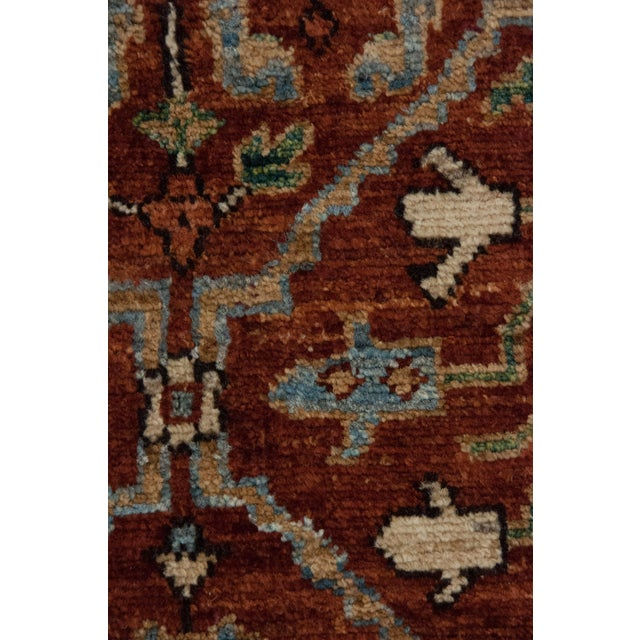 "Islamic Ziegler Hand Knotted Area Rug - 5'1"" X 7'1"" For Sale - Image 3 of 3"