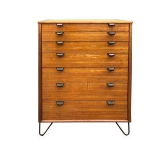 Edward Wormley Highboy Dresser Drexel Precedent 7 Drawer Chest
