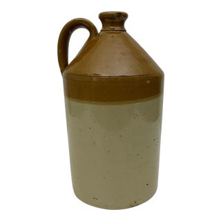 Antique English Stoneware Circulation Jug by Doulton & Co. For Sale