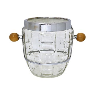 Oversized Mid-Century Champagne Bucket For Sale
