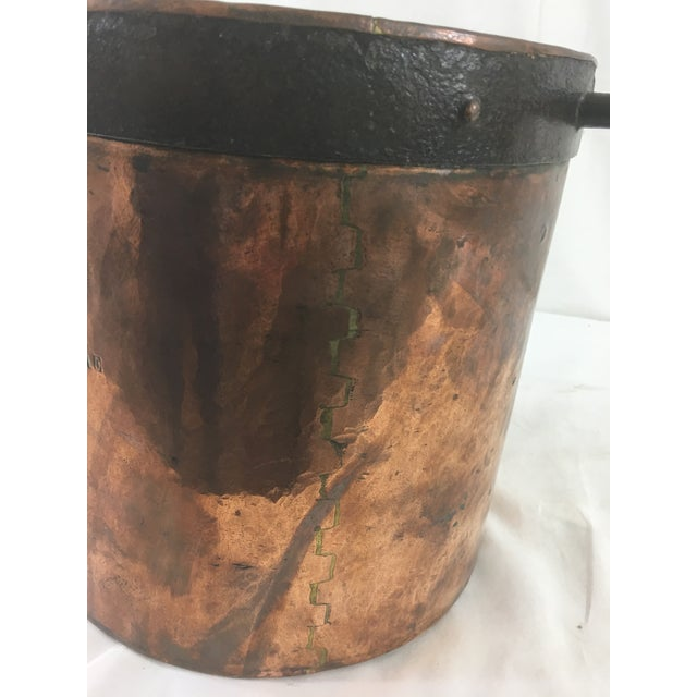 19th Century Copper Boiling Pot For Sale - Image 10 of 11