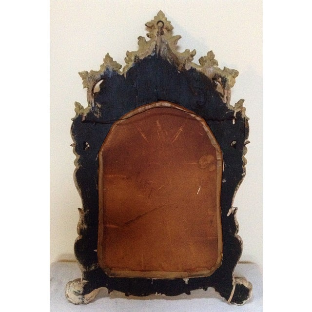 18th Century Chinoiserie Painted Italian Mirror For Sale - Image 4 of 4