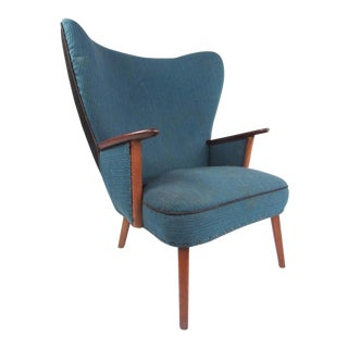 Madsen & Schübel Pragh Wingback Lounge Chair For Sale
