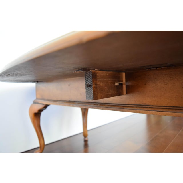Queen Anne Oval Coffee Table - Image 7 of 11
