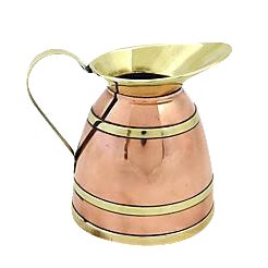 English Copper Banded Jug For Sale