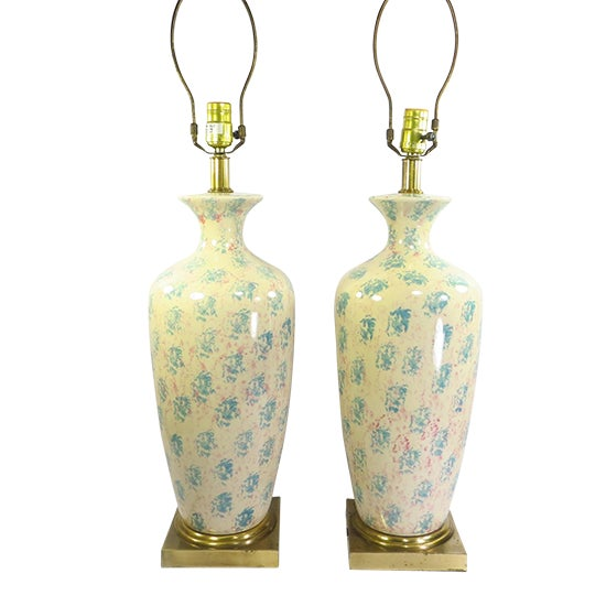 Tyndale Chicago Boudoir Table Lamps, 1980s - Pair - Image 1 of 8