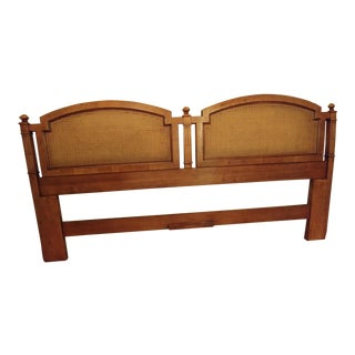 Henredon Rondinella-Verona Cane King Headboard For Sale