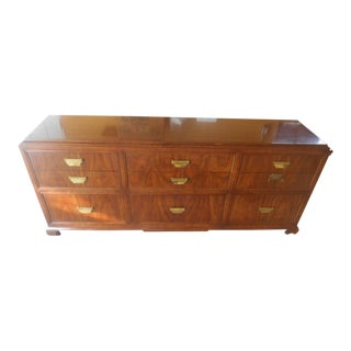 Mid-Century Modern Sahadi Nine-Drawer Dresser / Credenza
