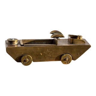 WWII Trench Art Landing Craft Ashtray For Sale