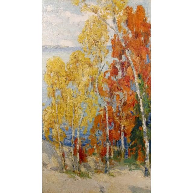 Isabel Hunter - Beautiful Carmel Landscape-California Impressionist-Oil painting For Sale - Image 5 of 10