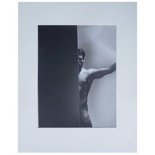 Original 20th Century Portrait of a Man, Silver Gelatin Photograph For Sale
