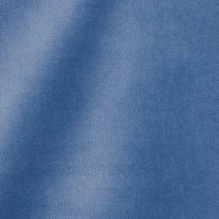 Schumacher Rocky Performance Velvet Fabric in Cornflower For Sale