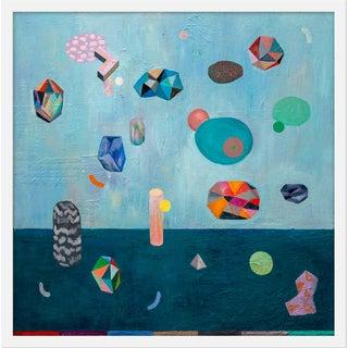 "Medium ""Meteorite Rain Iii"" Print by Martyna Zoltaszek, 25"" X 25"" For Sale"
