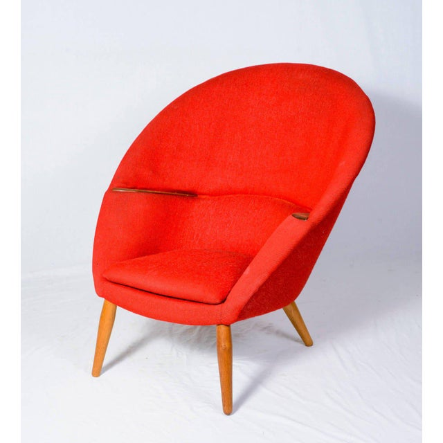 """Nanna Ditzel """"Oda"""" lounge chair designed in 1953 and produced by Poul Kolds Savvaerk. Store formerly known as ARTFUL..."""
