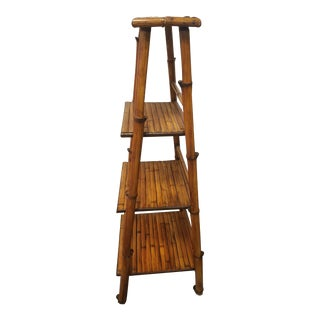 Vintage Bamboo Stand/Shelf For Sale