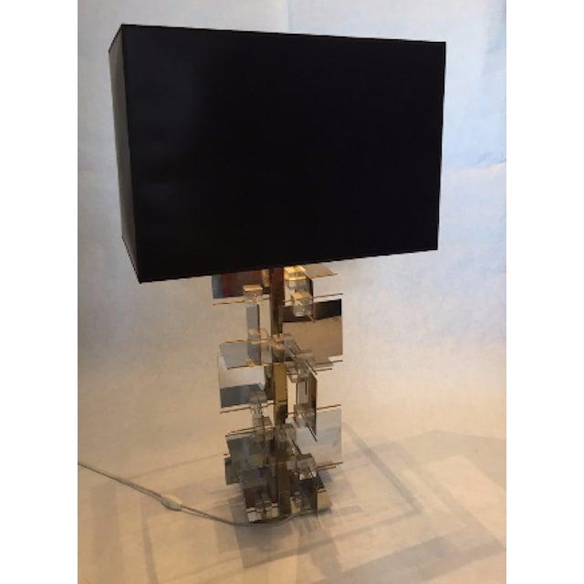 1960s Gaetano Sciolari Sculptural Table Lamp - Image 2 of 5