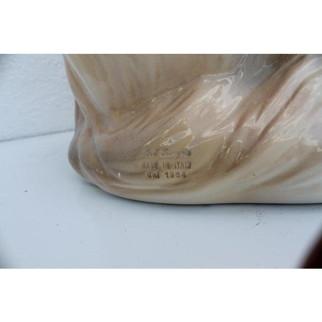 Italian Ceramic Dog Statue - Image 7 of 7