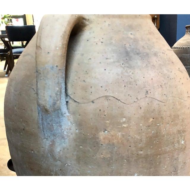 Metal Italian Large 18th Century Terracotta Jar For Sale - Image 7 of 9
