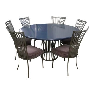 MCM Umanoff/Shaver Howard Sculptural Dining Set - 7 Pieces For Sale