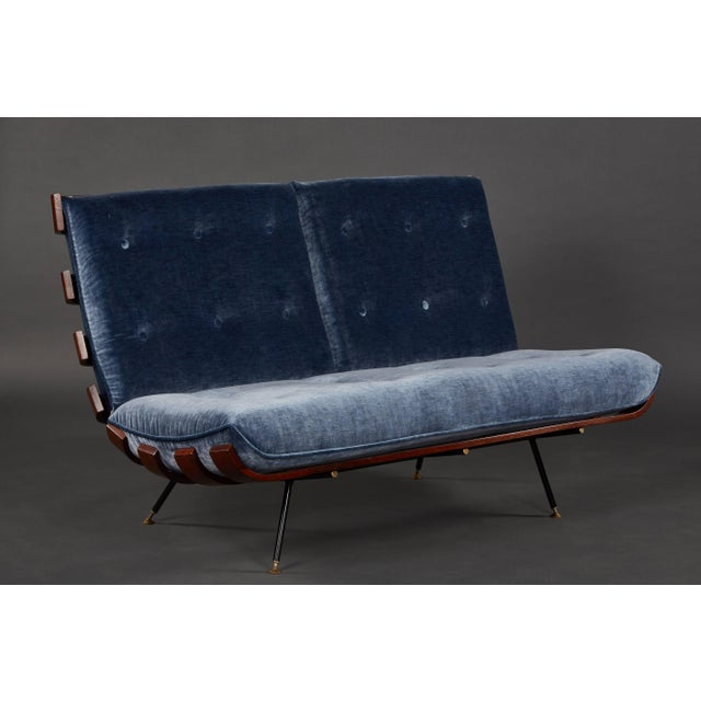 """Mid-Century Modern """"Costela"""" (""""Rib"""") Suite by Carlo Hauner and Martin Eisler For Sale - Image 3 of 11"""