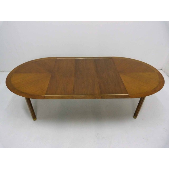 Baker Far East Round-to-Oval Dining Table - Image 3 of 10