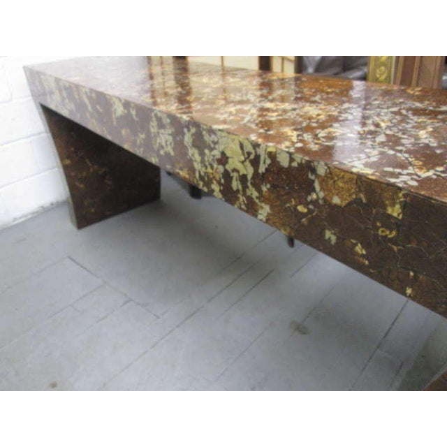 Enrique Garcel Lacquered Coconut Shell Console Table - Image 7 of 9