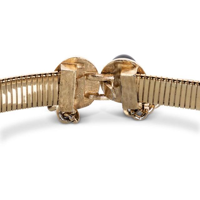 1990s Judith Leiber Gold Semi-Precious Stones Chain Belt For Sale In Miami - Image 6 of 7